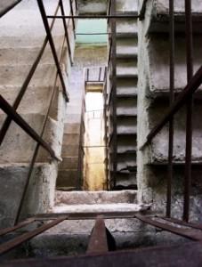 Treppenhaus Vorort Tiflis