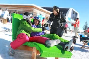 2-Länder-Skifahren, Pisten-Butler und Otto Waalkes
