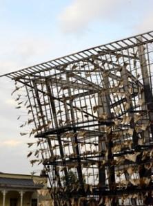 Typischer Rohbau in Tiflis