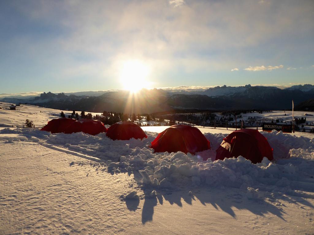 Alm-Biwak auf der Villanderer Alm: Dem Himmel ein Stück näher. Foto: Matthias Hofer, Alpinist.it