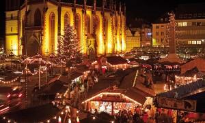 Würzburger Weihnachtsmarkt. © Congress • Tourismus • Wirtschaft