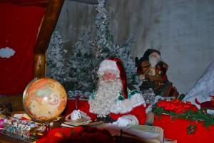 Weihnachtsmann-Sprechstunde auf dem Rocher de Naye
