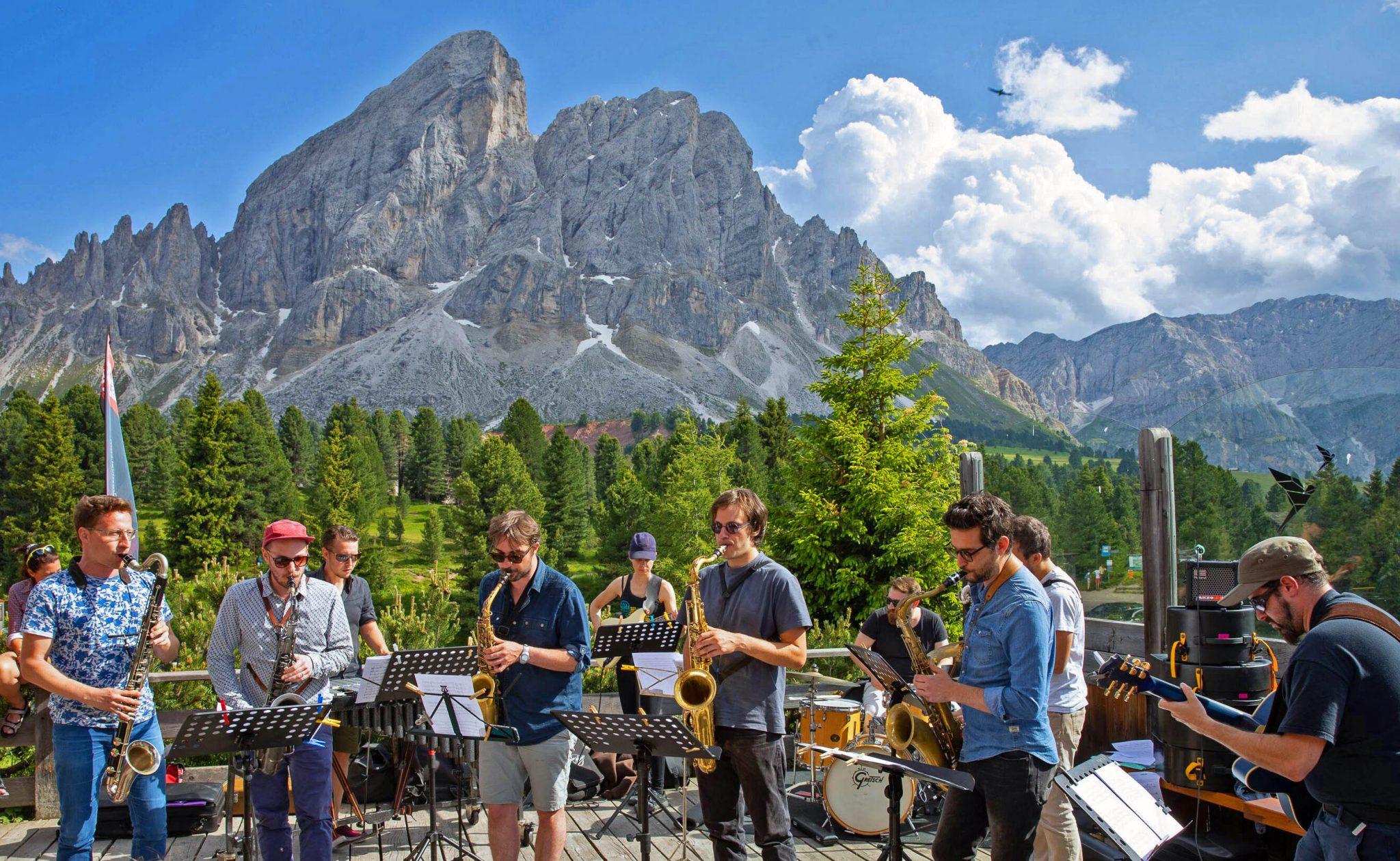 Südtirol Jazzfestival 2019 Festival auf Almen und Weinbergen