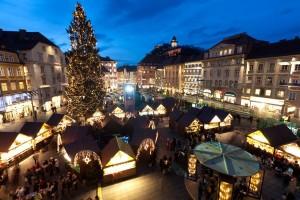 Christkindlmarkt am Hauptplatz in Graz. © Graz Tourismus - Harry Schiffer