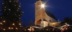 Turmblasen und Adventsingen sind die Höhepunkte beim  Adventmarkt St. Leonhard. Foto: TVB Grödig
