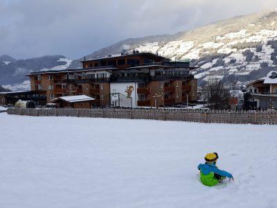 alpina zillertal vom Übungshang aus, Foto Siefert