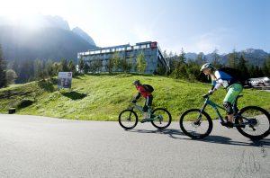 Biken in der Tiroler Zugspitz Arena