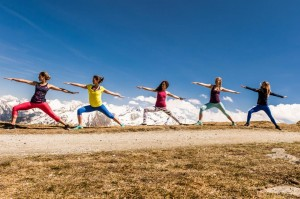 Yoga-Herbst im Gasteinertal. Foto: Gasteinertal Tourismus Creatina