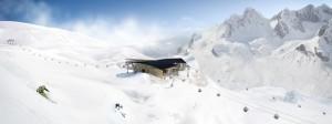 Die Flexenbahn am Arlberg sowie die ebenfalls neuen Trittkopfbahnen verbinden St. Anton und Zürs. Foto: Ski Arlberg
