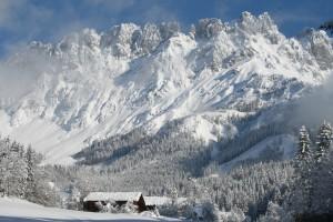 Winter in der Bergdoktor-Region