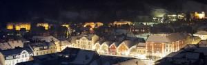 Besinnliche Adventstimmung am Hauptplatz von Bruck an der Mur. Foto: Bruck Meieregger