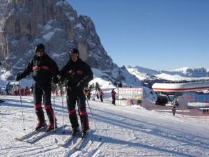 Unterwegs mit den Carabinieri am Ciampinoi