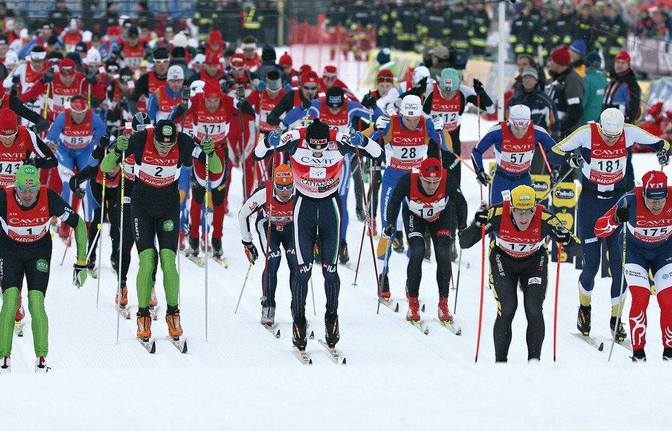 Skilanglauf im Trentino: Sport-Events und Loipen-Spaß