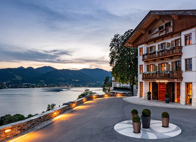schönsten besten See-Hotels in Oberbayern