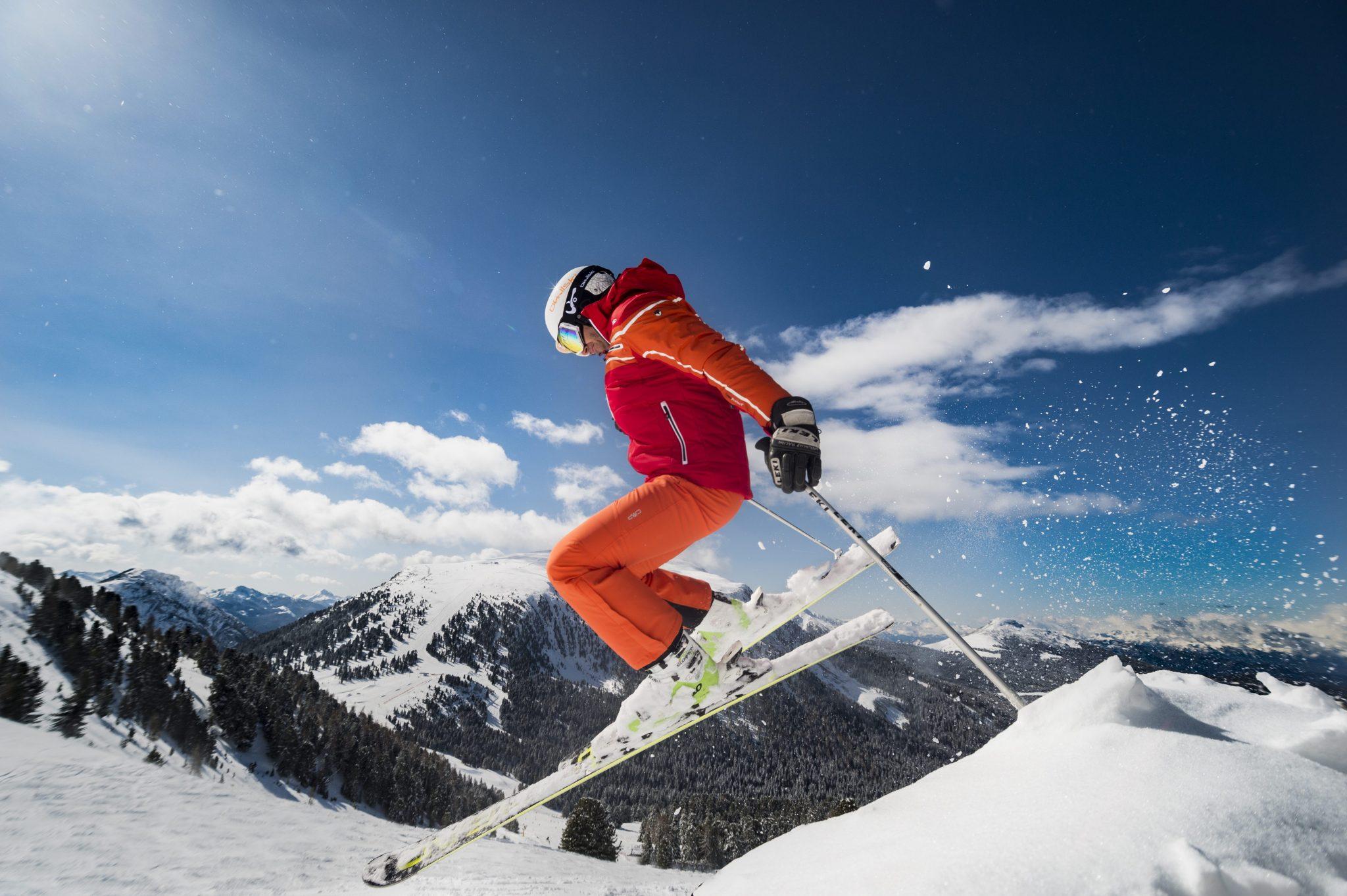 Frühlings-Skifahren im Südtiroler Eggental