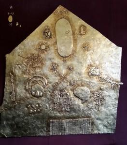 goldene Tafel in Qoricancha