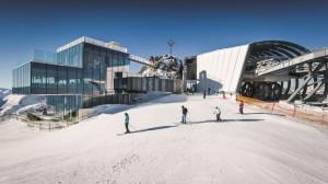 Auf den Spuren von James Bond: Das Restaurant IceQ in Sölden © Bergbahnen Sölden