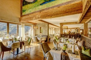 Edel und einladend: Das Hauptrestaurant