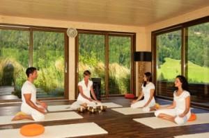 """Das """"Andreus"""" beschäftigt für seine vielen Spezial-Kurse wie z.B.Yoga ausschließlich Vollprofis"""
