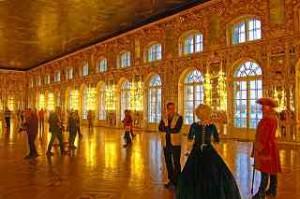 Mittelpunkt aller Feste im Katharinenpalast - der 900 qm Große Saal