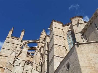 k-20-Details der Kathedrale