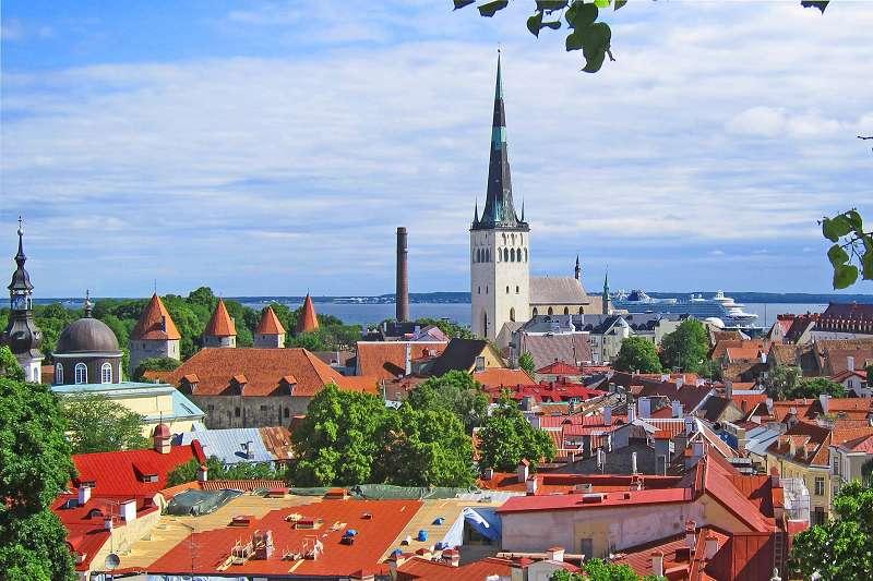 Tallinn von der Oberstadt aus