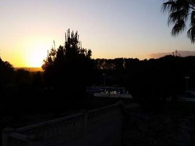 k-8- Sonnenuntergang von der Finca Son Manera aus