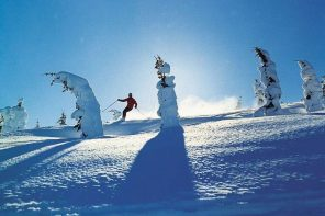 Skivergnügen bei Whistler in Britisch Kolumbia