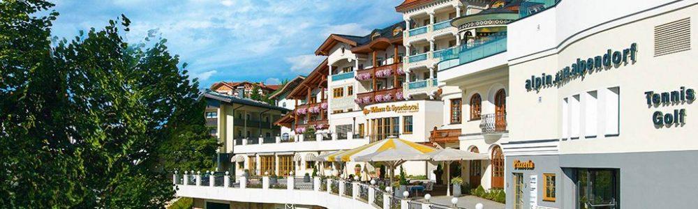 beste schönste Tennishotels Salzburg