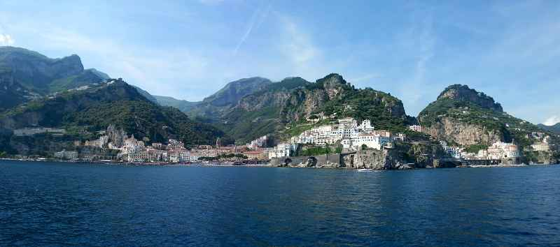 k-Blick auf Amalfi