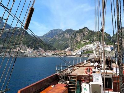 k-Einfahrt nach Amalfi