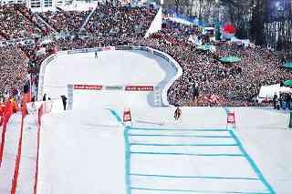 """75. Hahnenkamm-Rennen. Das spektakulärste Skirennen der Welt auf der legendären """"Streif"""". Foto: Medialounge"""