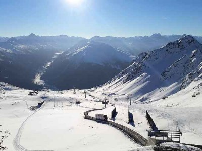 k-Von Davos bis auf den Gipfel mit der Persennbahn