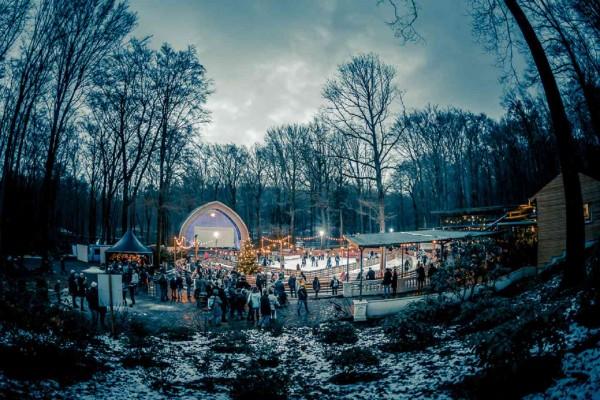 Winter in Dresden_Schlittschuhbahn auf dem Konzertplatz Weißer Hirsch_Robert Jentzsch