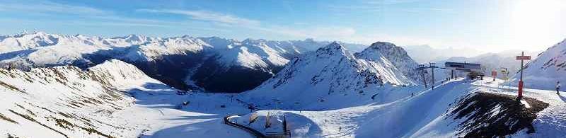 k-zuverlässig weiß - Davoser Bergwelt