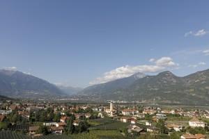 Berge und viel Grün: Lana und seine Umgebung