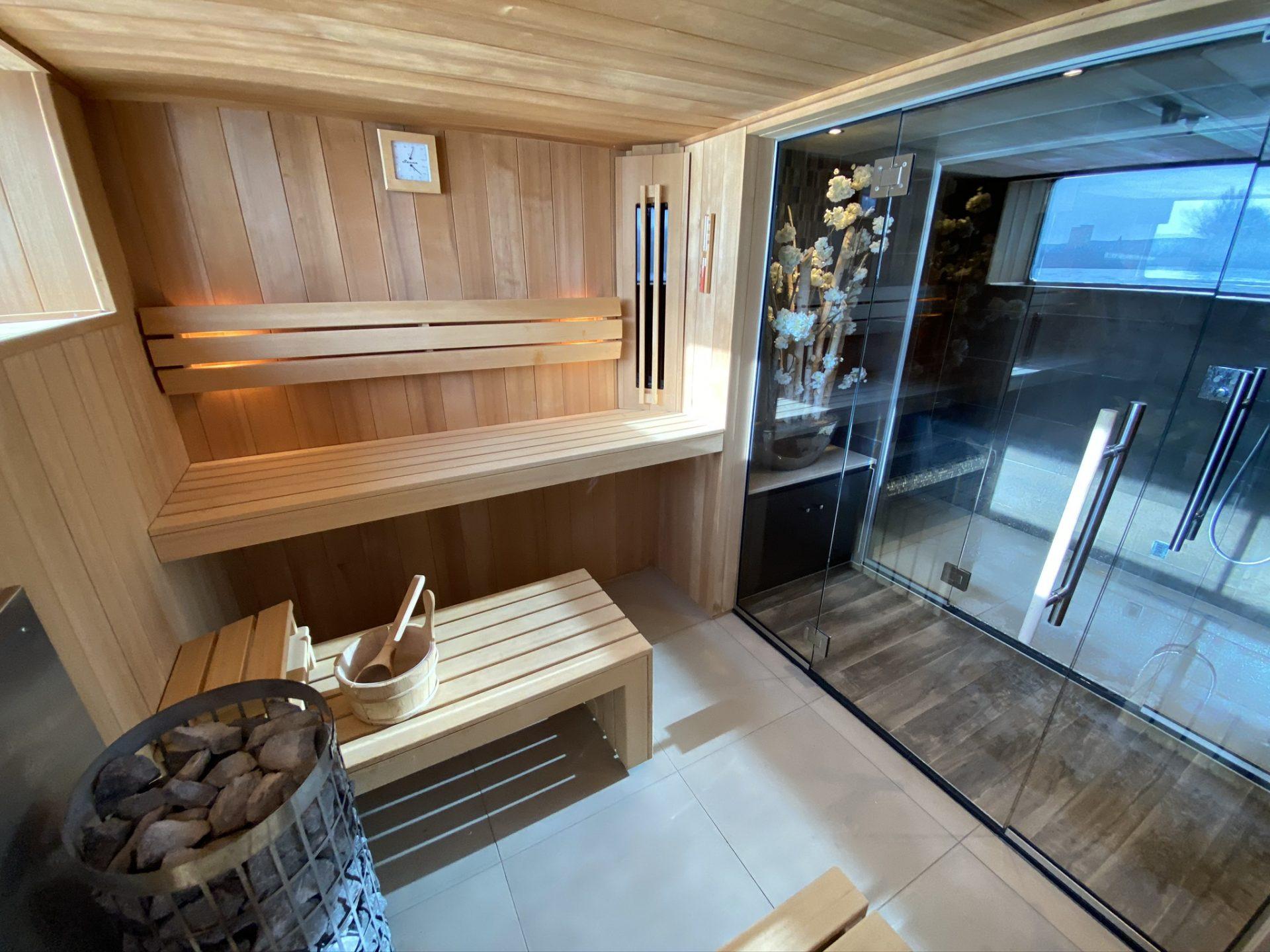 Klein, aber fein: Sauna auf der NickoVISION