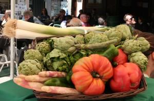 prächtiges Gemüse von Tudela