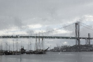 Älvsborgsbron Spannbrücke über den Göta