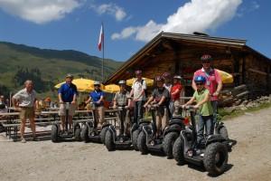Teenies können einen Führerschein für Segways machen © Alpbachtal Seenland
