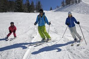 Familien-Skigaudi in der Skiregion Dachstein West