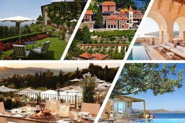 Die schönsten Sommerterrassen in Europa