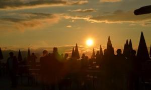 Sonnenuntergang am Hochjoch.