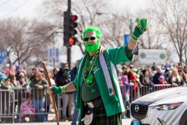 St. Patrick's Day 2021 at home