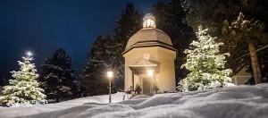 Die Stille Nacht-Kapelle in Oberndorf. Foto: SalzburgerLand
