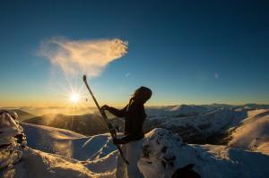 Skitouren am Falkert. © Tine Steinthaler/Kärnten Werbung