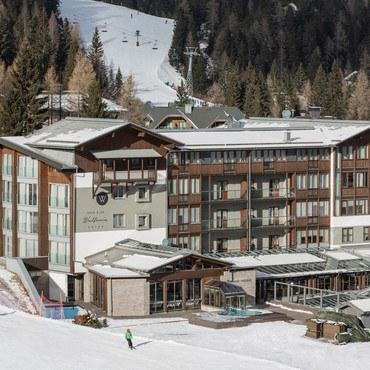 Das Falkensteiner Hotel & Spa Wulfenia ist seit dem 23. 12. 2016 geöffnet.
