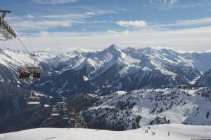 Das Skigebiet auf dem Penken in Mayrhofen. Foto: Frank Bauer